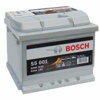 Bosch akkumulátor 12V 52Ah S5 jobb+