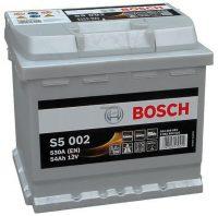Bosch S5 autó akkumulátor 12V 54Ah jobb+