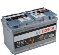 Bosch S5 12V 80Ah AGM 800A Start Stop akkumulátor