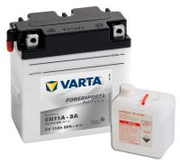 6N11A-3A Varta Powersports Freshpack 6V 11Ah