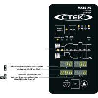 CTEK MXTS 70 akkumulátor töltő