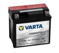 YTX5L-4 / YTX5L-BS Varta AGM motor akkumulátor