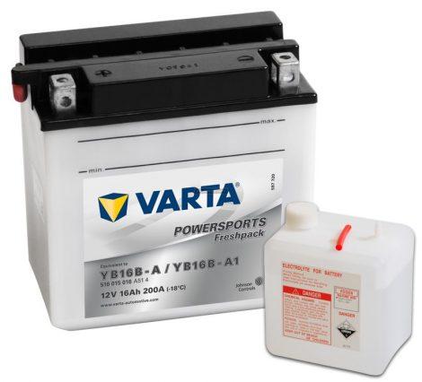 YB16-B Varta Freshpack Motor akkumulátor