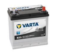 Varta Black Dynamic 12V 45Ah Jobbl+ Japán tipusú akkumulátor talprögzítéssel