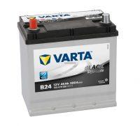Varta Black Dynamic 12V 45Ah bal+ Japán tipusú akkumulátor talprögzítéssel