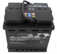 GrandPrix 12V 45Ah jobb+ akkumulátor