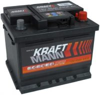 Kraftmann 12V 45Ah jobb+ akkumulátor