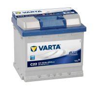 12V 52Ah autó akkumulátor Varta Blue Dynamic jobb+