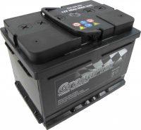 GrandPrix 12V 60Ah jobb+ alacsony házas akkumulátor