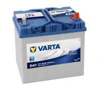 12V 60Ah jobb+ 560410054 Varta Blue Dynamic