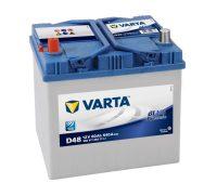 Varta Blue Dynamic 12V 60Ah autó akkumulátor bal+