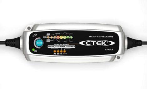 CTEK MXS 5.0 Teszt&Charge