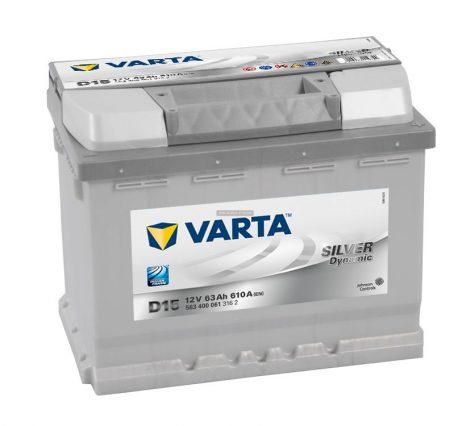 Varta Silver Dynamic 12V 63Ah jobb+