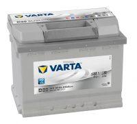 Varta Silver Dynamic 12V 63Ah autó akkumulátor bal+