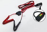 CTEK LED visszajelzős csipesz csatlakozó