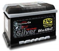 Zap Silver 12V 64Ah jobb+ akkumulátor