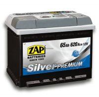 Zap Silver Premium akkumulátor 12V 65Ah jobb+
