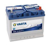 Varta Blue Dynamic 12V 70Ah autó akkumulátor jobb+