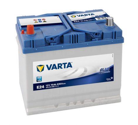 Varta Blue Dynamic 12V 70Ah bal+ akkumulátor