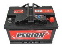 12V 72Ah akkumulátor Perion jobb+