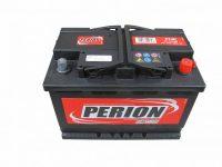 12V 74Ah akkumulátor Perion jobb+