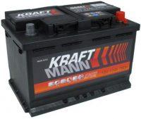 Kraftmann 12V 77Ah autó akkumulátor jobb+
