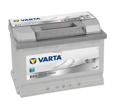Varta Silver Dynamic 12V 77Ah autó akkumulátor jobb+