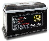 Zap Silver 12V 80Ah jobb+ akkumulátor