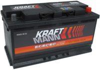 Kraftmann 12V 100Ah jobb+ autó akkumulátor