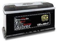 Zap Silver 12V 100Ah jobb+ autó akkumulátor