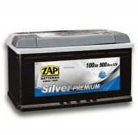 ZAP Silver Prémium 12V 100Ah jobb+ akkumulátor