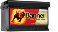 Banner Running Bull 12V 70Ah AGM jobb+