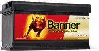 Banner Running Bull 12V 92Ah AGM jobb+
