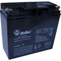 Zselés akkumulátor 12V 18Ah Diamec