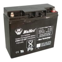Zselés akkumulátor 12V 20Ah UPS Diamec