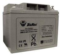 UPS akkumulátor 12V 40Ah Diamec