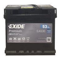 Exide Premium 12V 53Ah jobb+ EA530