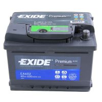 12V 60Ah autó akkumulátor Exide Premium jobb+ 242X175X175