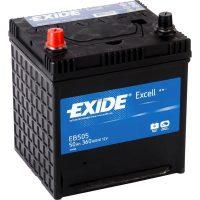 Exide Excell autó akkumulátor 12V 50Ah japán kivitel
