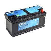 Exide AGM 12V 105Ah Start-Stop akkumulátor jobb+ EK105