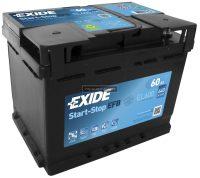 Exide 12V 60Ah Start-Stop akkumulátor EFB jobb+ EL600