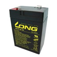 6V 4Ah zselés akkumulátor LONG