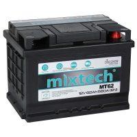 Mixtech 12V 62Ah autó akkumulátor