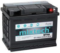 Mixtech akkumulátor 12V 68Ah jobb+
