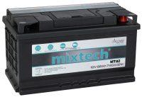 Mixtech 12V 82Ah jobb+ autó akkumulátor