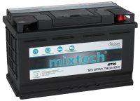 Mixtech 12V 90Ah jobb+ autó akkumulátor