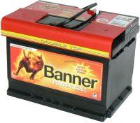 Banner autó akkumulátor 12V 55Ah jobb+ \