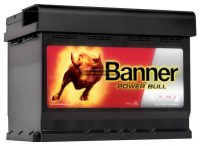 Banner Power Bull  12V 60Ah jobb+