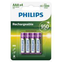 Tölthető akkumulátor Philips AAA 950mAh