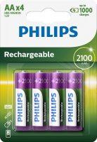 Tölthető akkumulátor Philips AA 2100 mAh